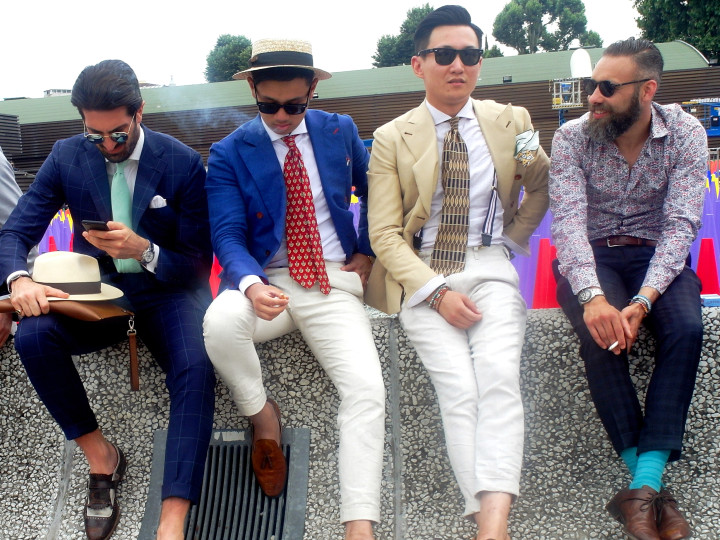 Great inspiration at Pitti Uomo 2015