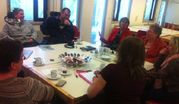 Group discussions with wheelchair users