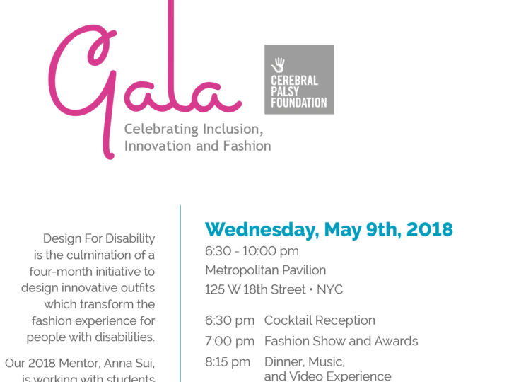 Design for Disability Gala 2018